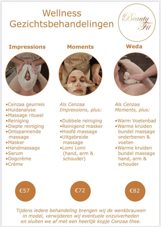 wellness gezichtsbehandeling